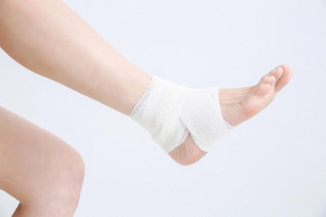 足首の痛みの写真